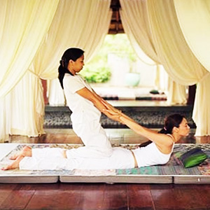 Практика тайского массажа
