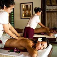 Королевский парный тайский массаж, Таиланд
