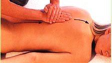 Массаж разминание спины