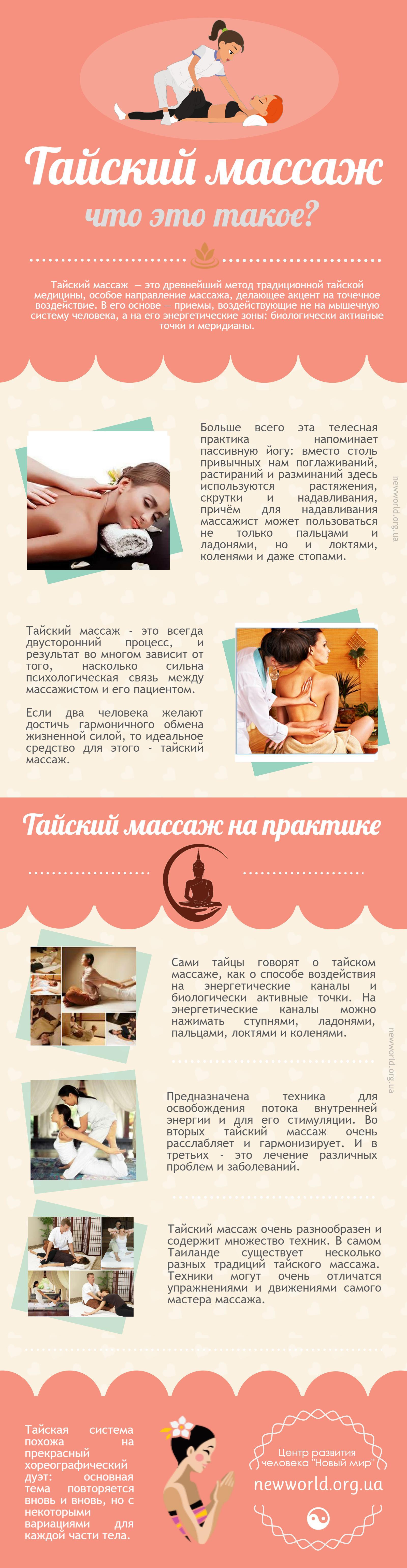 thai massage chto eto